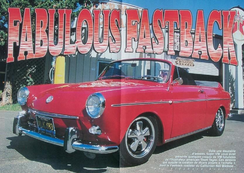 69 Fastback Roadster
