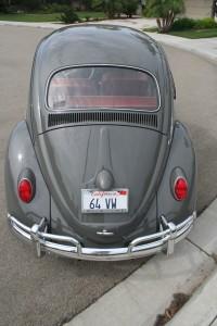 '64 VW Bug: Restored Rear View