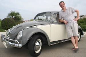 Vince and His Restored '64 VW Bug