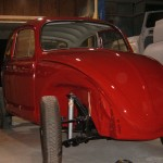 '66 VW Beetle: Right Front