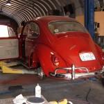 '66 VW Beetle: Rear